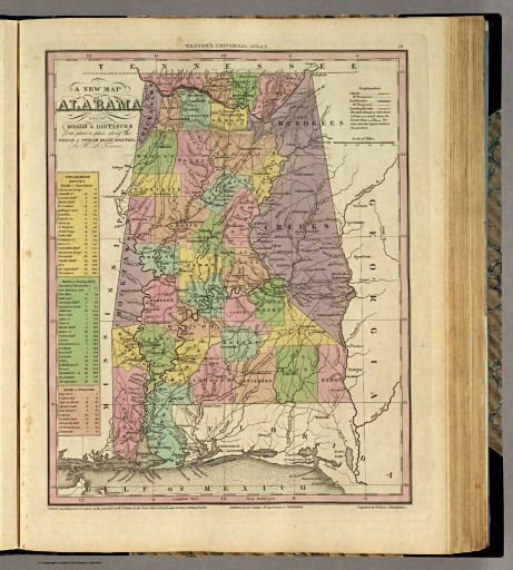 Tanner's Universal Atlas (1836)